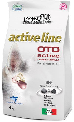 Forza 10 nutraceutic - Oto Active Line , 4 Kgs (Ear Problems)