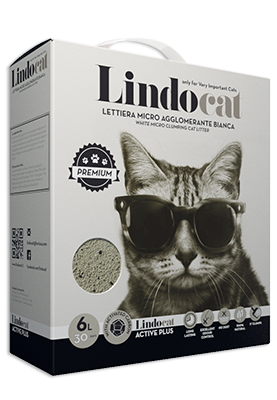 Lindo cat litter Active Plus 6 Ltr
