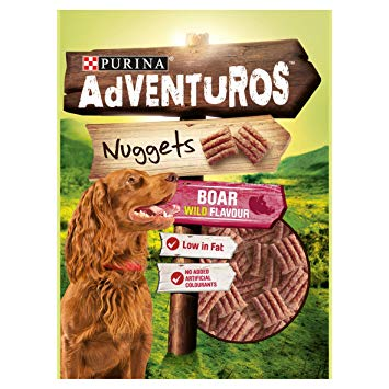 Adventuros Nuggets, wild boar flavour, 90g