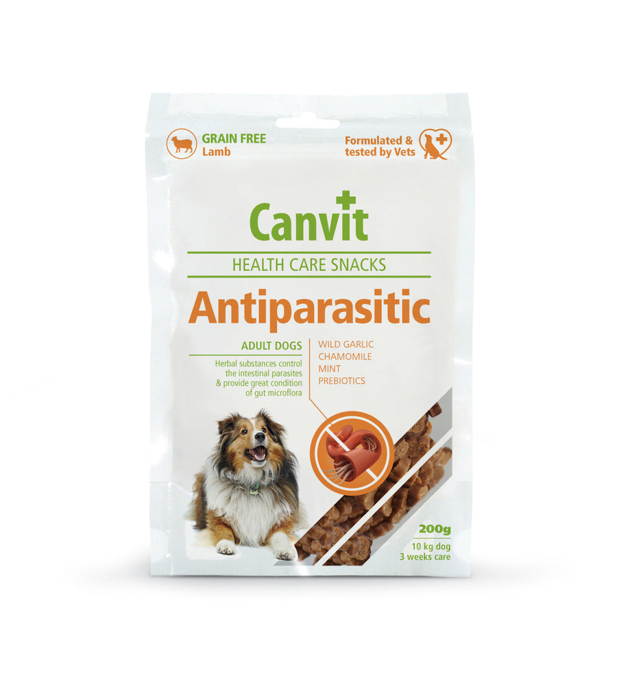 Canvit snack Antiparasitic dog, 200g