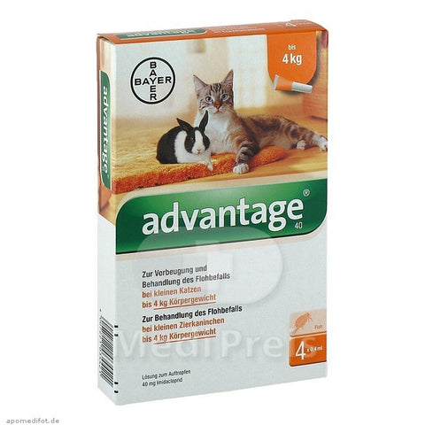 Advantage Cats up to 4 Kgs