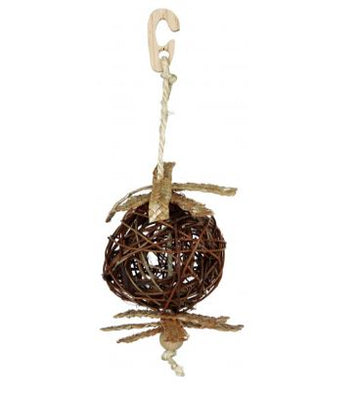 Natural Living wicker ball  Measurements: ø 10 cm / 22 cm
