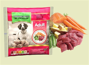 Nature's menu Beef nuggets, 1 kgs