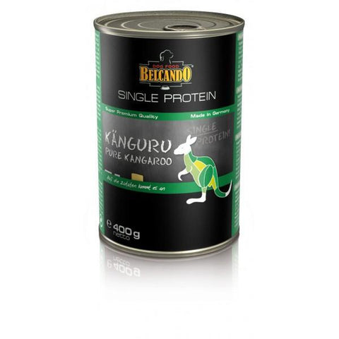Belcando single protein tins, 400g - Kangaroo
