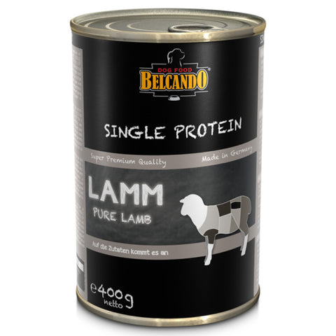 Belcando single protein tins, 400g - Lamb