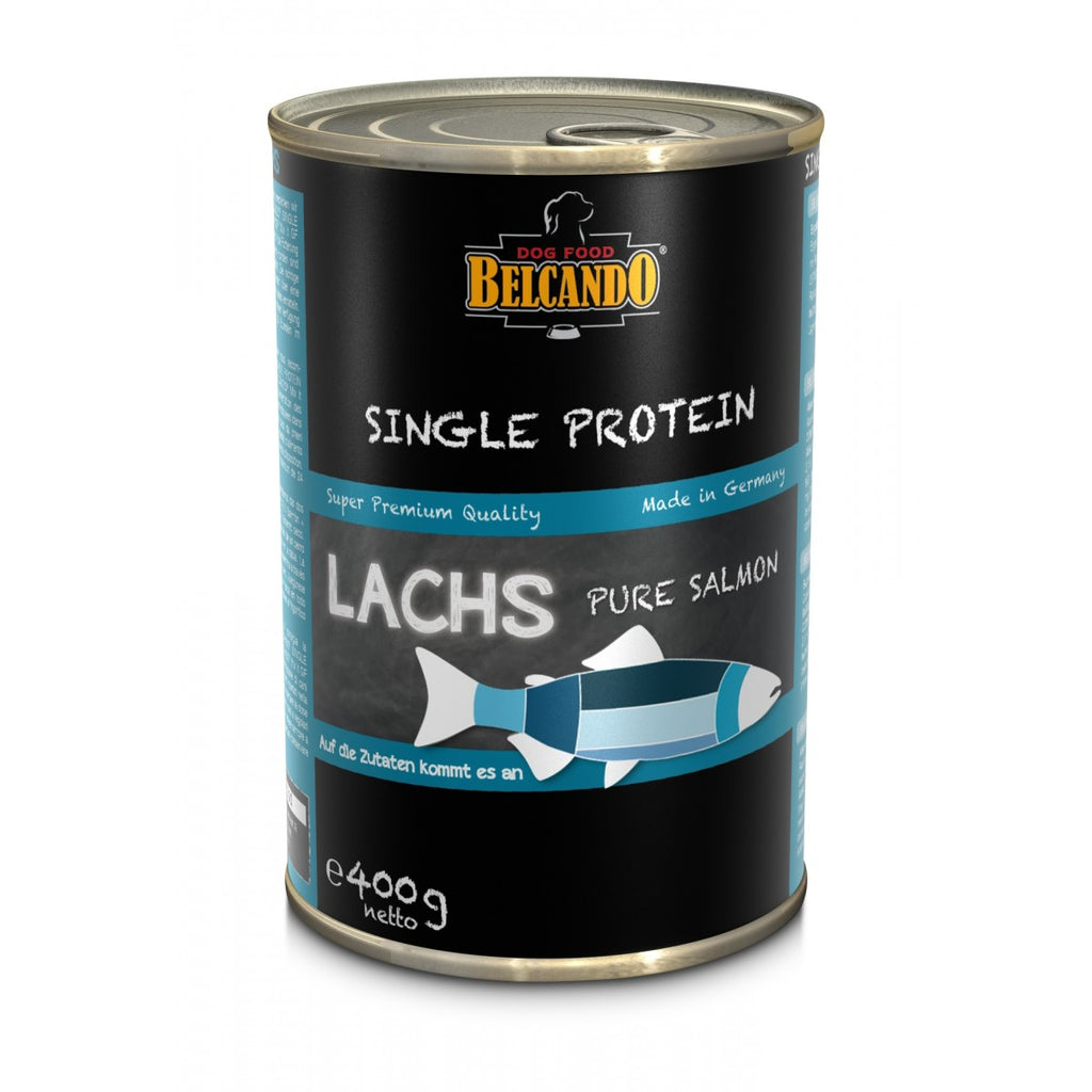 Belcando single protein tins, 400g - Salmon