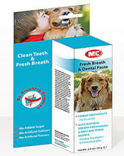 M&C Fresh Breath & Dental Care Paste Dog