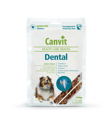 Canvit snack Dental dog, 200g
