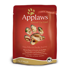 Applaws Pouch Adult Tuna with Pacific Prawn
