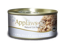 Applaws Tin Tuna Fillets with Cheese