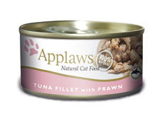 Applaws Tin Tuna Fillets with Prawns