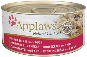Applaws Cat Tin Chicken and Duck