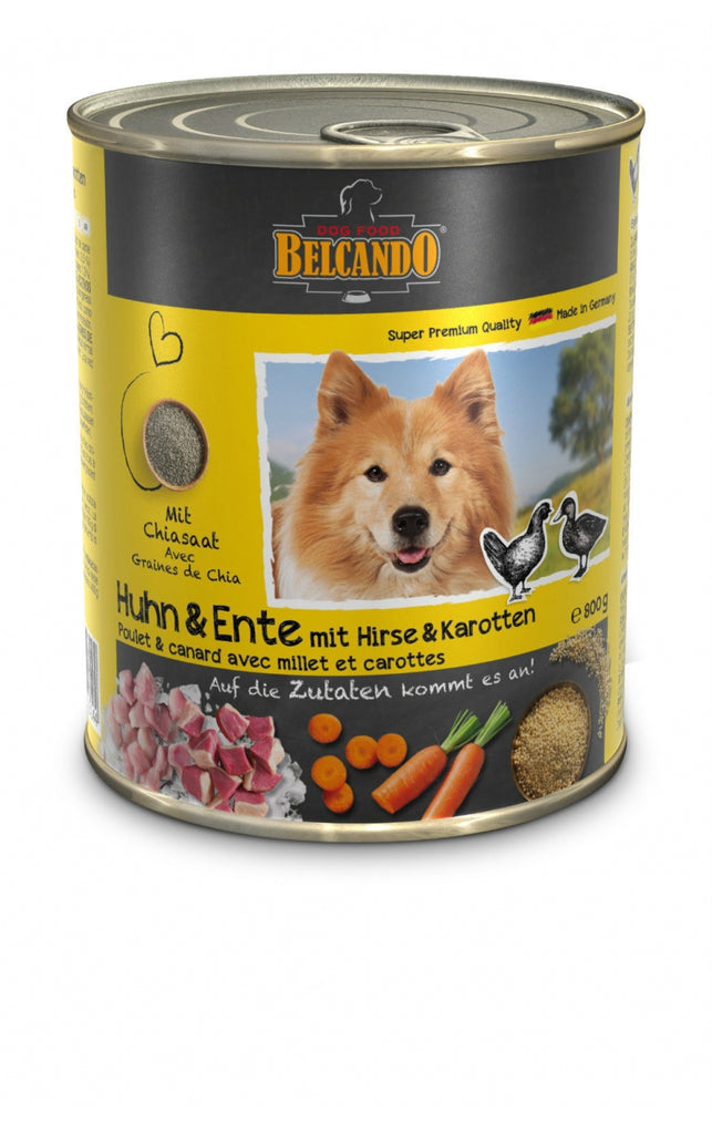 Belcando tins Chicken & Duck, 400g