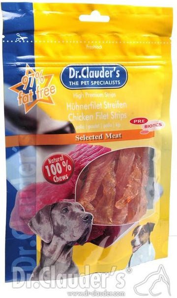 Dr Clauder's Chicken Fillet Strips, 80g