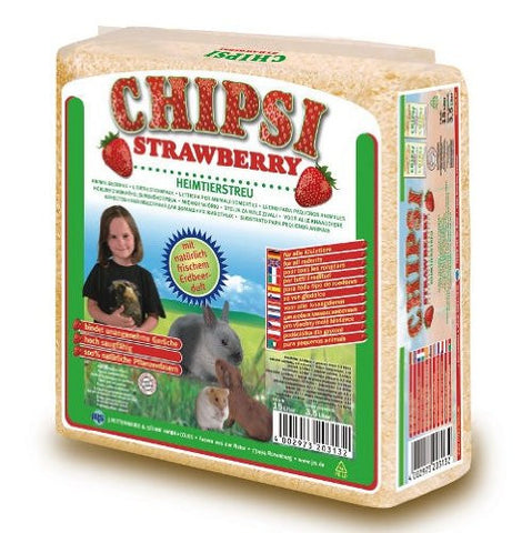Chipsi Plus Strawberry Litter