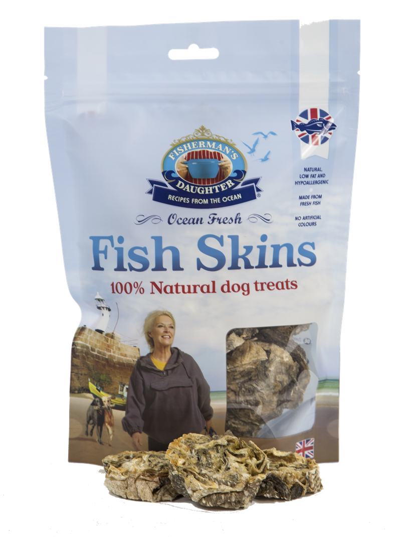 Fisherman's Daughter Fish Skins Cod Cubes Treats