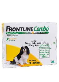 Frontline Combo Dog (3 pack) - Small, 2 - 10 Kgs