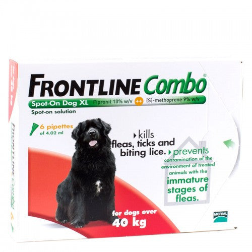 Frontline Combo Dog (3 pack)  X-Large, Over 40 Kgs