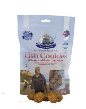 Fisherman's Daughter Fish Cookies Salmon