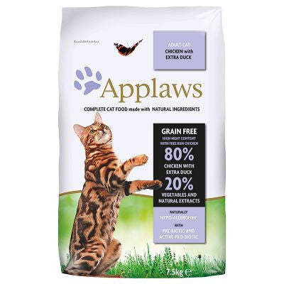 Applaws Cat dry food adult Chicken & Duck