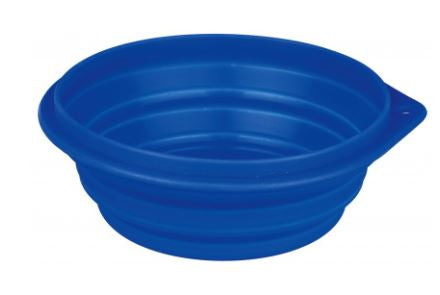 Silicone travel bowl Measurements: 0,5 l / ø 14 cm