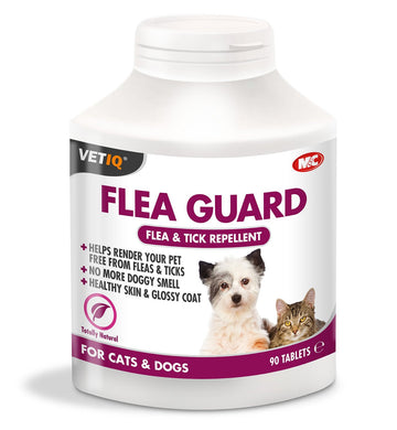 Vet IQ Flea Guard tablets cat and dog (90 tabs)