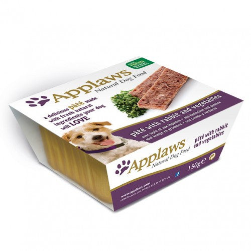 Applaws dog Foil pate Rabbit and Vegetables , 150g