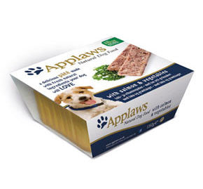 Applaws dog Foil pate Salmon and Vegetables, 150g