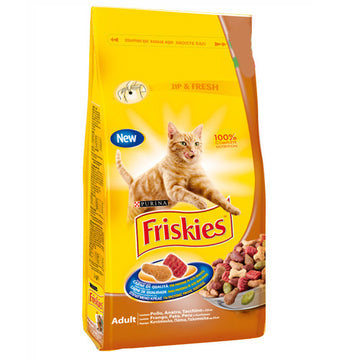 Friskies cat Dry Duck, Chicken & Turkey, 400g
