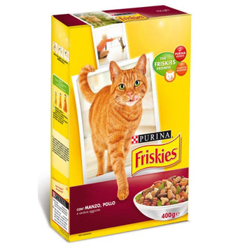 Friskies cat Dry Beef & Liver, 400g
