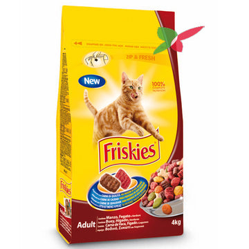 Friskies cat Dry Beef, Liver and Vegetables, 2 Kgs