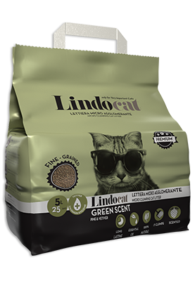 Lindo cat litter Green Scent 5 Ltr