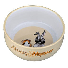 Honey & Hopper Ceramic Bowl