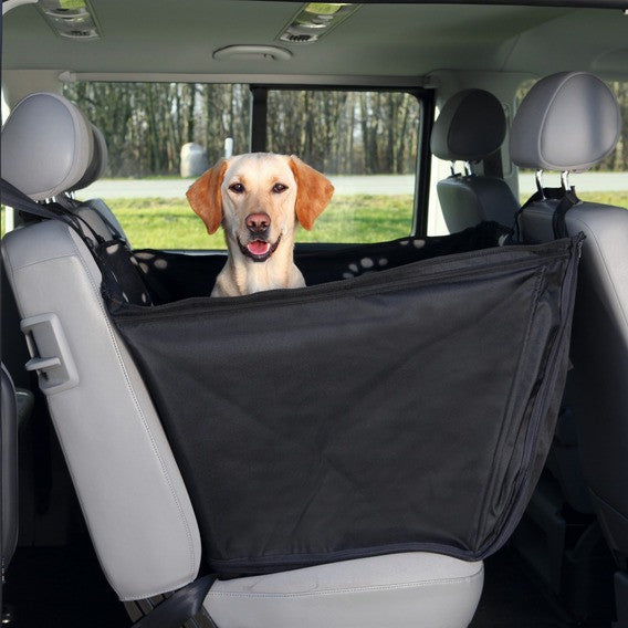 Car Seat Cover Black / Beige 0.65 x 1.45cm