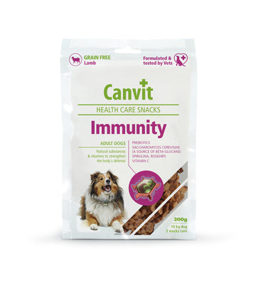 Canvit snack immunity dog, 200g