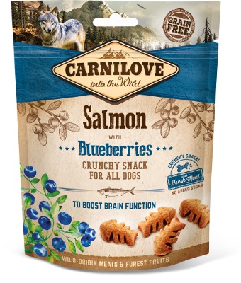 Carnilove Crunchy dog Snack Salmon with Blueberry, 200g