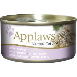 Applaws Tin Kitten Sardines, 70g