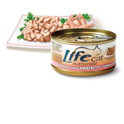 Life Cat Tuna/Shrimps, 70g
