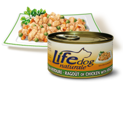Life Dog Ragout, Chicken and Vegetables