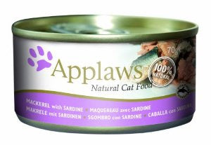 Applaws Cat Tin Mackerel with Sardines