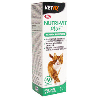 VET IQ Nutri-Vit Plus Paste Suppliment Cat, 70g