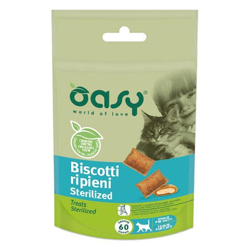 Oasy cat treats stuffed biscuits Sterilized