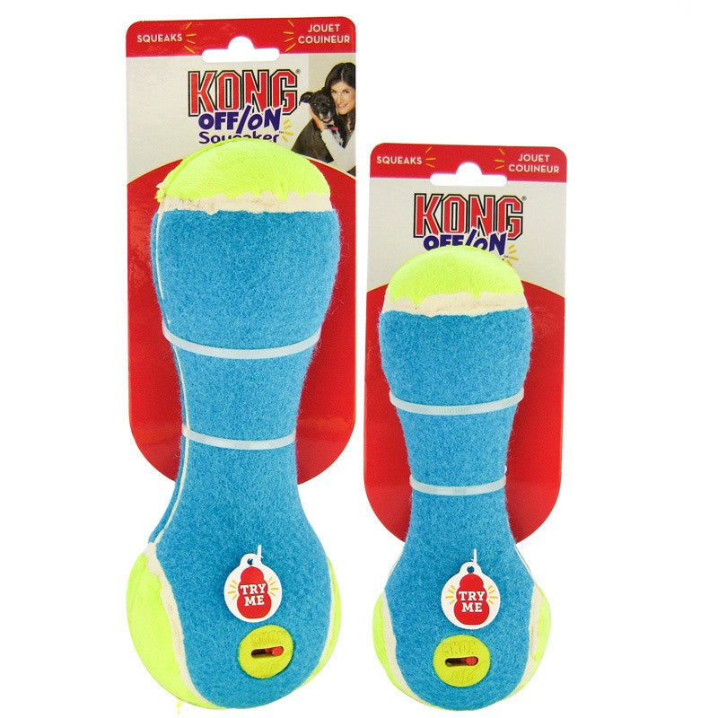 KONG - Off/On Squeaker Rattle