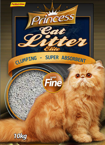 Princess Litter Elite Super Fine Clumping Litter