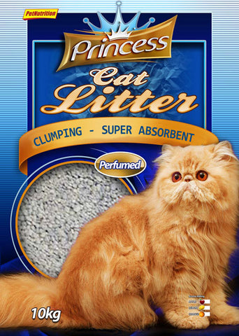 Princess Litter Natural Clamping Litter