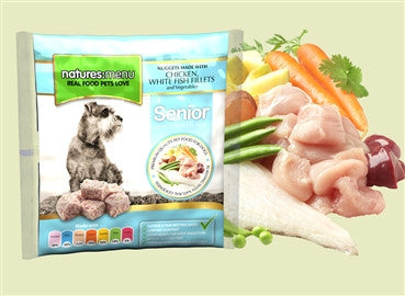 Senior Chicken & Fish Bite Size Nuggets, 1 Kg