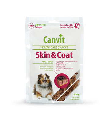Canvit snack Skin & Coat dog, 200g