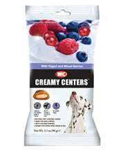 M&C Creemy Centres Yogurt berries Dog