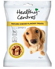 M&C Healthy Centres Mature cheese dog