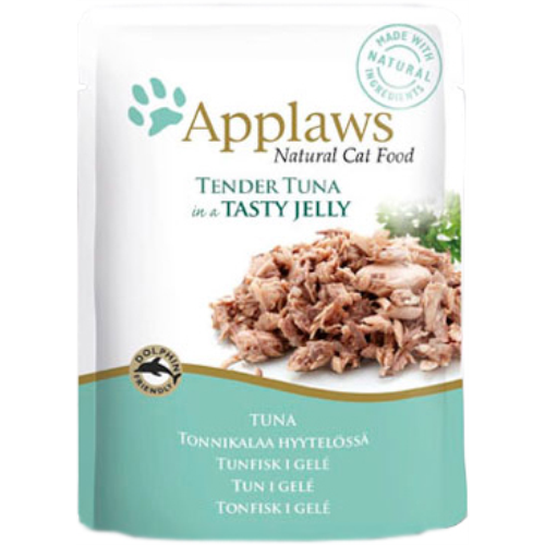Applaws Pouches Tender Tuna in tasty Jelly